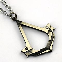 Mere Tilbehør Inspireret af Assassin's Creed Connor Anime / Videospil Cosplay Tilbehør Mere Tilbehør Gyldent / Sølv Legering / PU Læder
