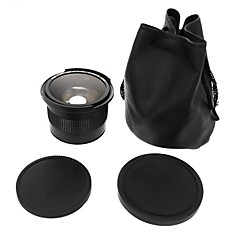 l'objectif de 0.35x 58mm super-fish-eye grand angle pour 58mm canon 70d 60d 7d 6d 700d 650d 600d 550d 500d 1100d 1000d