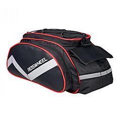 ROSWHEEL® Bike Bag 13LPanniers & Rack Trunk / Shoulder Bag Moistureproof / Shockproof / Wearable Bicycle Bag PU Leather / 600D Polyester