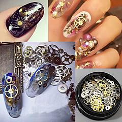 120pcs Nail Art dekoráció strasszos gyöngy smink Kozmetika Nail Art Design
