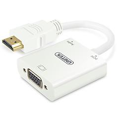 Адаптер для кабеля UNITEK HDMI to VGA (Male to Female)
