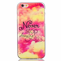 For iPhone 7 Case / iPhone 6 Case / iPhone 5 Case Ultra-thin / Pattern Case Back Cover Case Heart Soft TPU AppleiPhone 7 Plus / iPhone 7