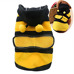 Cat / Dog Costume / Hoodie Yellow Dog Clothes Winter / Spring/Fall Animal Cute / Cosplay