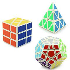 Yongjun® Tasainen nopeus Cube pyraminx / Alien / Megaminx Professional Level Lievittää stressiä / Rubikin kuutio Ivory Smooth Tarra /
