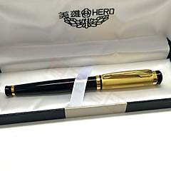 Kuglepen Pen Fyldepenne Pen,Metal / Plastik Barrel Sort Ink Farver For Skoleartikler Kontorartikler Pakke med PEN