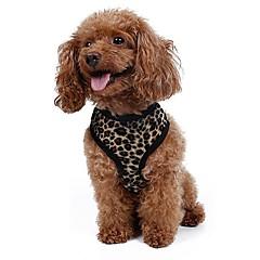 Pisici / Câini Hamuri / Lese Ajustabile/Retractabil / Cosplay / Respirabil / Siguranță / Απαλό / Alergat / Γιλέκο / CasualNegru Mat /