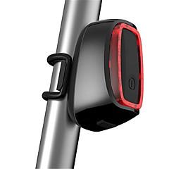 Luz Traseira Para Bicicleta / reflectores de segurança LED LED Ciclismo Prova-de-Água / Recarregável / Tamanho Compacto / Sensor USB