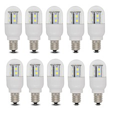 3W E14 / E12 LED Globe Bulbs T 15 SMD 2835 385 lm Warm White / Cool White AC 110 / AC 220-240 V 10 pcs