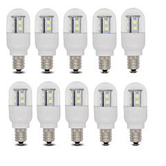 3W E14 / E12 Lâmpada Redonda LED T 15 SMD 2835 385 lm Branco Quente / Branco Frio AC 220-240 V 10 pçs