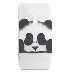 For ASUS Zenfone 3 ZE552KL Zenfone 3 ZE520KL Case Cover Panda Pattern High Permeability Painting TPU Material Phone Case