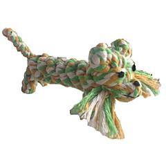 고양이 장난감 강아지 장난감 반려동물 장난감 씹는 장난감 치석제거 장난감 Rope 사자 털실 직물