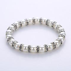 Bracelet Strand Bracelet Yoga Bracelet Alloy Imitation Pearl Party Halloween Birthday Congratulations Business Gift Casual Jewelry Gift