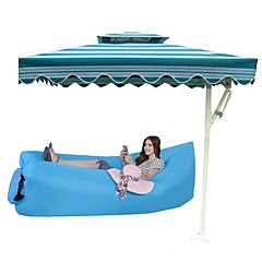 Travel Convenient Fabric Outdoor Inflatable Beach Lounger Air Bag Beach Couch Lazy Sofa Travel Rest Plastic / Polyester