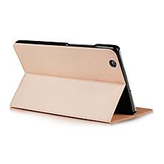 dois padrão dobra cor sólida capa de couro pu com o sono por 8,4 polegadas media Huawei pad m3