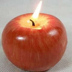 jul støbeprocessen simulation æble frugt stearinlys