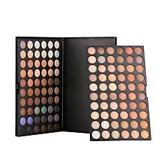 120 Paleta de Sombras Secos Paleta da sombra Pó NormalMaquiagem para o Dia A Dia / Maquiagem para Dias das Bruxas / Maquiagem de Festa /