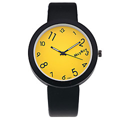 Women's Fashion Watch Wrist watch Quartz PU Band Vintage Casual Black Black Yellow Red Blue Blushing Pink
