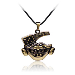 Jewelry Inspired by Tokyo Ghoul Cosplay Anime Cosplay Accessories Necklace Silver Alloy Male