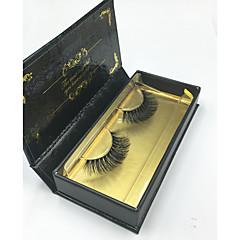 Kirpikleri Kirpik Tam Şerit Kirpikler Eyes Çapraz Kalın Kaldırılmış Kirpikler Hacimlendirilmiş Elyapımı Fiber Black Band 0.07mm 14mm