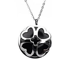 Γυναικεία Ανοξείδωτο Ατσάλι Heart Shape Μοντέρνα Ασημί Κοσμήματα 1pc