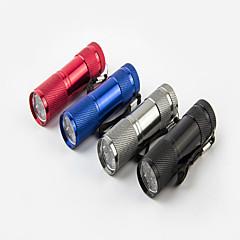 Belysning LED Lommelygter Lommelygter LED 120 Lumen 1 Tilstand XP-G2 AAA Vanntett Genopladelig Super let Komapkt Størrelse Lille størrelse