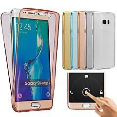 για το Samsung Galaxy J7 2016 περίπτωση TPU γεμάτο σώμα προστατευτικό σαφές κάλυψης περίπτωσης j1 j2 J3 J5 J7 2016