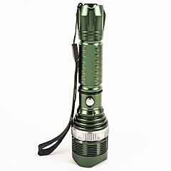Valaistus LED taskulamput LED 1200 Lumenia 5 Tila LED 18650 / AAA Himmennettävä / Vedenkestävä / Erityiskevyet / High Power