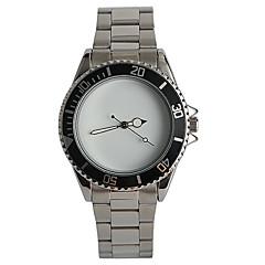 Simple Leisure Belt Steel Men Quartz Watch Rotary Surface Ring Watch