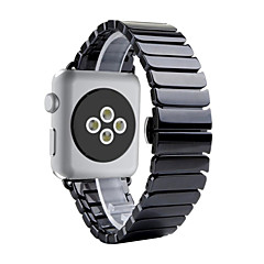 Horloge band voor appel horloge 38mm 42mm vlinder gesp keramische vervanging band polsbandje