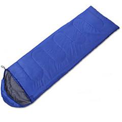 Sovepose Rektangulær sovepose Enkel 10 Hul Bomuld 400g 180X30 Vandring Camping Rejse Udendørs IndendørsFugtsikker Vandtæt Åndbarhed