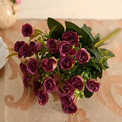 1 1 Tak Kunststof / Overige Rozen / Planten / Overige Bloemen voor op tafel Kunstbloemen
