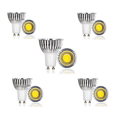 3W E14 / GU10 / GU5.3 / B22 / E26/E27 Spot LED 1 COB 300 lm Blanc Chaud / Blanc Froid / Blanc Naturel AC 85-265 V 10 pièces