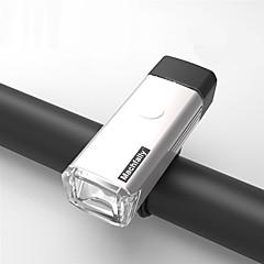 Luci bici Luce frontale per bici - Ciclismo Impermeabili Gancio Taglia piccola Facile da portare Batteria al litio Lumens USB