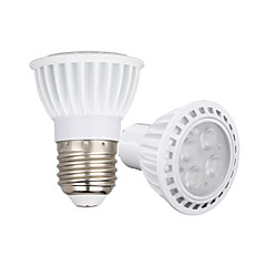4W GU10 E26/E27 Spot LED 4 SMD 3030 450-550 lm Blanc Chaud Blanc Froid Gradable AC110 AC220 AC 85-265 V 1 pièce