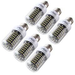 6W E26/E27 LEDコーン型電球 T 138 SMD 4014 400 lm 温白色 クールホワイト 装飾用 AC110-220 V 6個