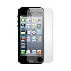 아이폰 5 / 5S에 대한 깨끗한 천에 맑은 스크린 프로텍터 (3 팩, 1 청소 천)
