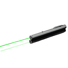 LT-WJ  Green Laser Pointer (5MW, 532nm, 2xAAA, Silver)