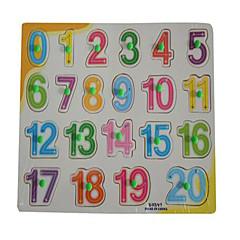 Jigsaw Puzzles Educational Toy / Jigsaw Puzzle Building Blocks DIY Toys Square 1 Wood Rainbow Leisure Hobby