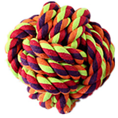 Pet Toys Interactive Teeth Cleaning Toy Rope Durable Cotton