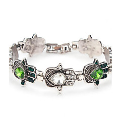 Dame Kæde & Lænkearmbånd Krystal Mode Boheme Stil Folk Style Rhinsten Simuleret diamant Blomstformet Smykker Til Daglig