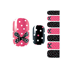 yemannvyou®14pcs mode strik&spot nail art glitter sticker B1030