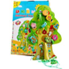 Odstresowywujący Zabawka edukacyjna Kwadrat Cylindryczny Drewniany Dla chłopców Dla dziewczynek