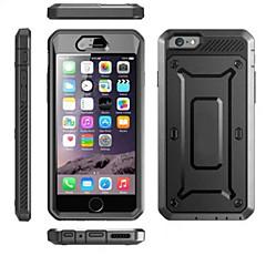 For iPhone 6 etui iPhone 6 Plus etui Stødsikker Støvsikker Vandtæt Etui Heldækkende Etui Helfarve Hårdt PC foriPhone 6s Plus/6 Plus