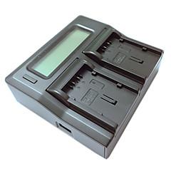 ismartdigi VBG130 260 lcd kettős töltő autós töltő kábel Panasonic VBG130 260 kamera batterys