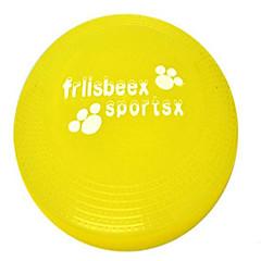 강아지 장난감 반려동물 장난감 인터렉티브 플라잉 디스크 견고함 접시 블루 옐로우 퍼플 플라스틱