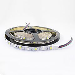 fleksibel LED strip rgb IP20 ikke-vandtæt 300 smd dekorativt lys 5050 60 leds / m 12v dc 1 stk