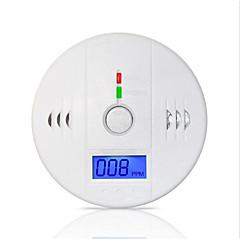85dB uyarı yüksek duyarlı lcd fotoelektrik bağımsız eş gaz sensörü, karbon monoksit zehirlenmesi alarm dedektörü