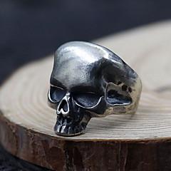 טבעת תכשיטים כסף סטרלינג Skull shape כסף תכשיטים יומי קזו'אל 1pc