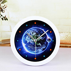 kreativ jord ur desk ur desk vækkeur tabel ur kreative hjem dekorative mode mute ure