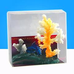 Aquarium Decoratie Koraal s Nachts oplichtend Hars Willekeurige Kleuren